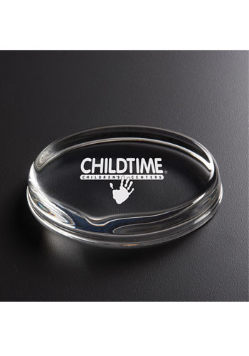 Personalized Oval Paperweight