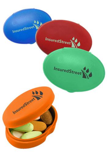 Bulk Oval Pill Boxes