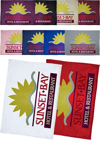Promotional Oversize Tahoe Microfleece Throw Blankets