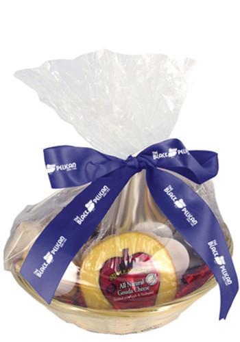 Custom Cheese & Cracker Gift Basket