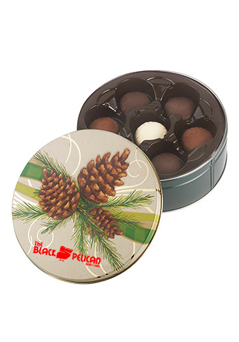 Promotional Collector Tins with Gmet Cookies