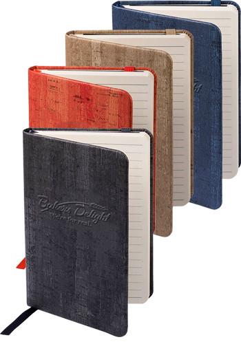 Personalized Cork Style Finish Casablanca Mini Journals