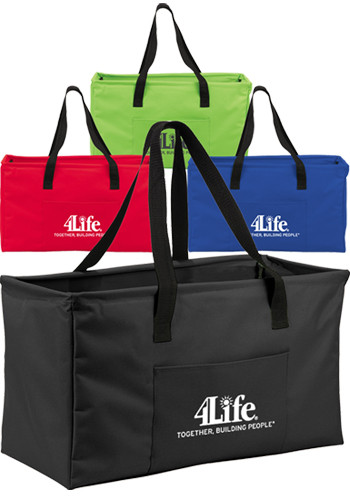 Personalized Large PolyCanvas Utility Tote Bags