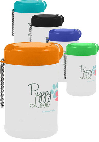 Personalized Pet Wipes in Canister