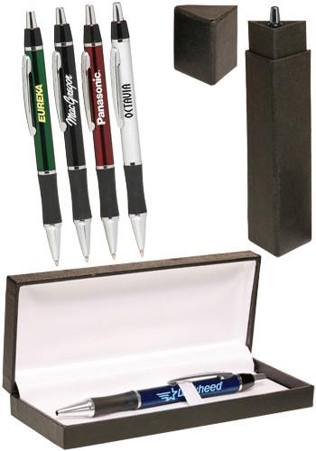 Wholesale Metallic Action Writing Pen Gift Set
