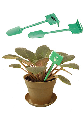 Personalized Plant Rakes and Spades