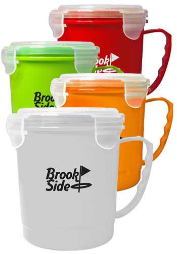 Custom Polypropylene Soup Mugs
