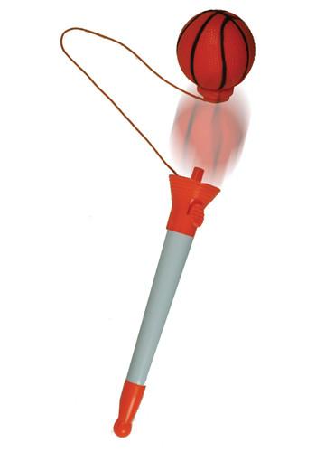 Custom Pen with Pop Top Basketball Stress Balls