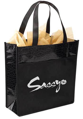 Customized Debonaire Laminated Tote Bags