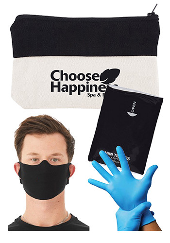 Personal Protection Kit with Cloth Mask and Gloves| PLPC902