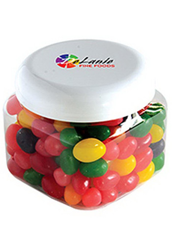 Customized Standard Jelly Beans in Large Snack Canisters