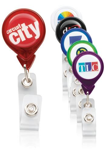 Custom Premium Tear Drop Badge Holders