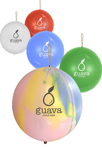 Promotional 16 inch Latex Punch Balloons