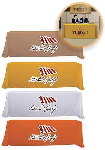 Promotional 8 ft. Standard Table Throws