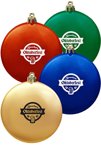 Customized Flat Shatterproof Ornaments