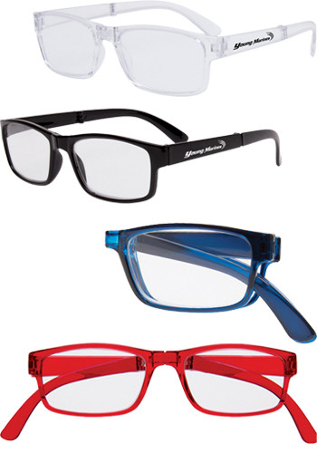 Folding Reading Glasses with Protective Case