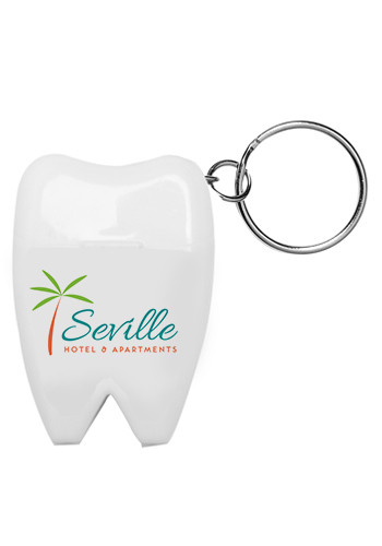 Promotional Tooth Shaped Dental Floss Dispensers