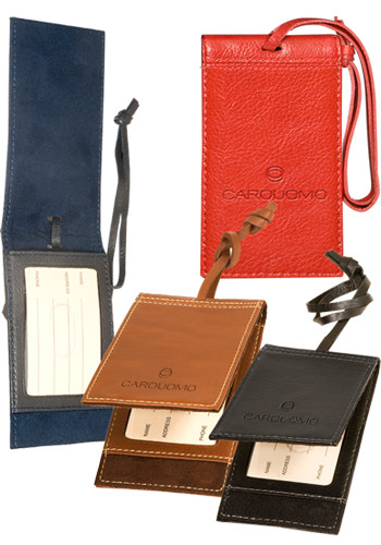 Voyager Barclay Leather Magnetic Luggage Tag Sets | PLLG9052