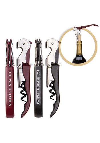 Personalized Pulltap's Double Hinged Waiters Corkscrews