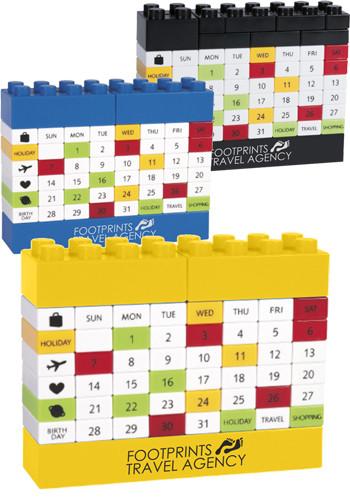Custom Puzzle Block Calendars