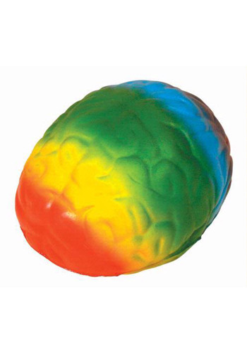 Wholesale Rainbow Brain Stress Balls