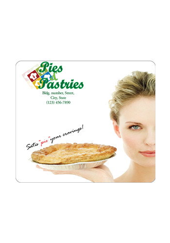 Promotional Rectangle Round Corner 4in x 3.5in Magnets