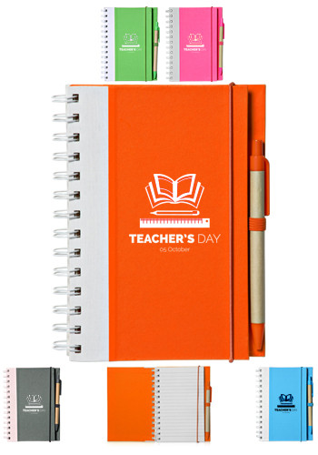Customized Recyclable Bright ECO Notebooks