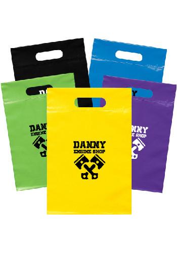 Recyclable Die Cut Handle Plastic Bags | BM19FS914