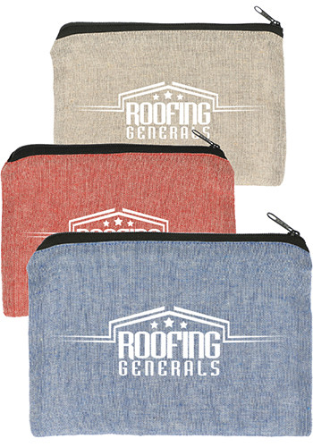 Wholesale Recycled 5oz Cotton Twill Pouches