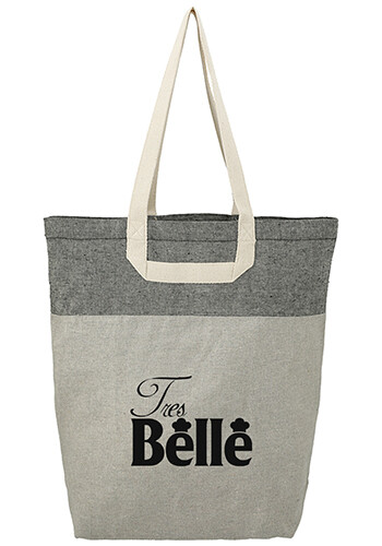 Wholesale Recycled Cotton U-Handle Book Tote Bag
