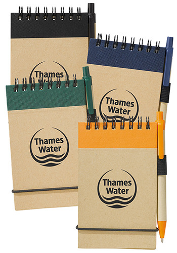 Recycled Jotters and Pens   SM3429