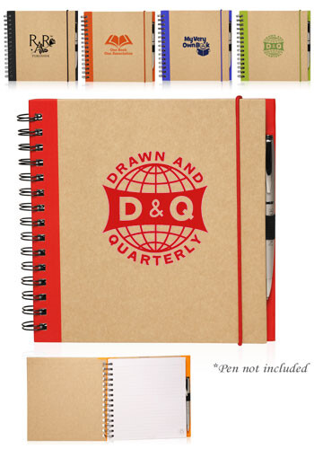 Customized Recycled Square Notebooks