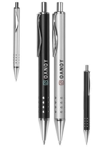 Swerve Clip Metal Ballpoint Pens | MP279