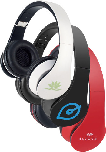 Promotional Rhythm Headphones with Mic
