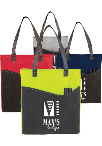 Rivers Pocket Convention Tote Bags | SM7325