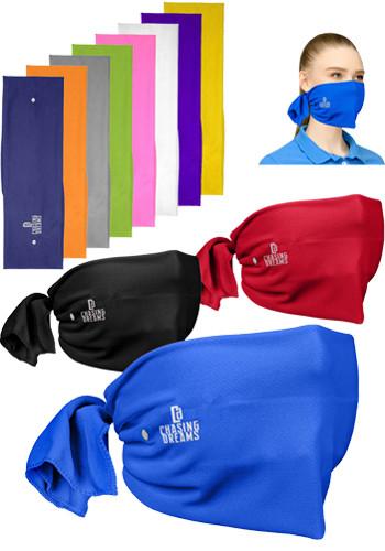 Riveted Cooling Towel Tie-Back Face Masks| HCH710M