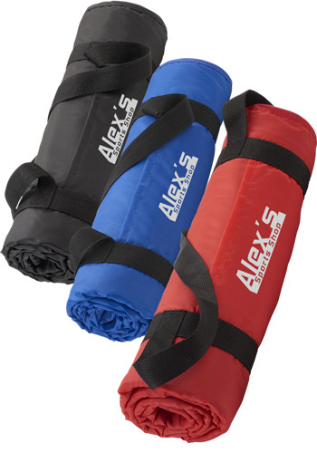 Customized Roll up Picnic Blankets with Carrying Strap