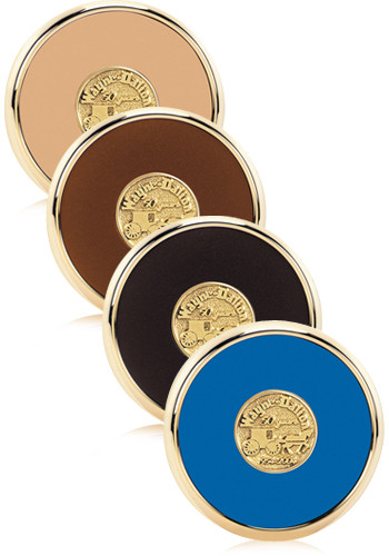 Promotional Round Brass Coasters