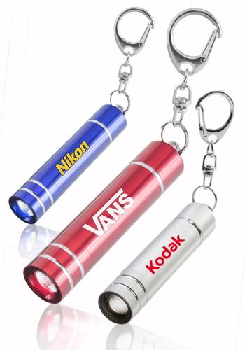 Aluminum LED Key Chains
