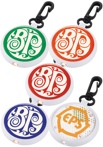 Personalized Round Reflector Lights