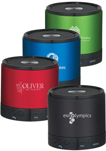 Customized Round Wireless Bluetooth Speakers