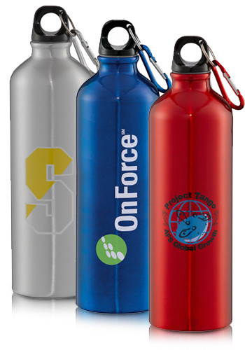 Custom 26 oz. Santa Fe Aluminum Bottles