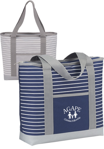 Saturn Zippered Business Totes | SM5827