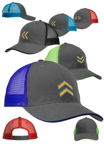 Two Tone Mesh Trucker Hats