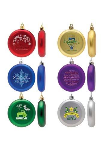Bulk Flat Round Ornaments