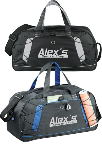 Personalized Shockwave Sport Duffle Bags