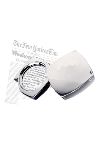 Customized Silver Folding Magnifiers