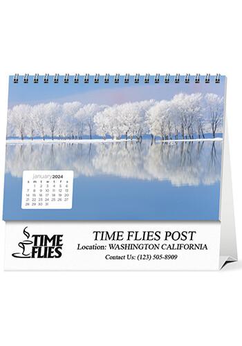Customized Simplicity Large Desk Calendars