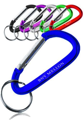 Metal Carabiner Keychains