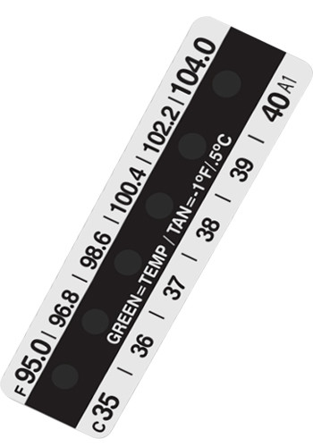 Personalized Single Use Forehead Thermometers